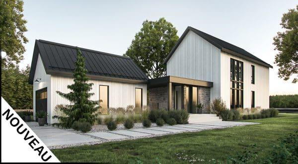 plans de maison modernes et accessibles