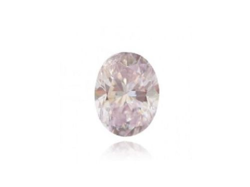 0.23ct Pink Diamond - Natural Loose Fancy Light Pink Diamond VS1 Oval Shape
