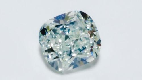 1.29ct Green Diamond - Natural Loose Light Green Fancy Color GIA Cushion VS2