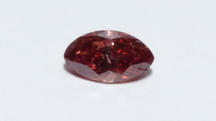 0.18ct Pink Diamond - Natural Loose Fancy Deep Pink GIA Cert Marquise Untreated