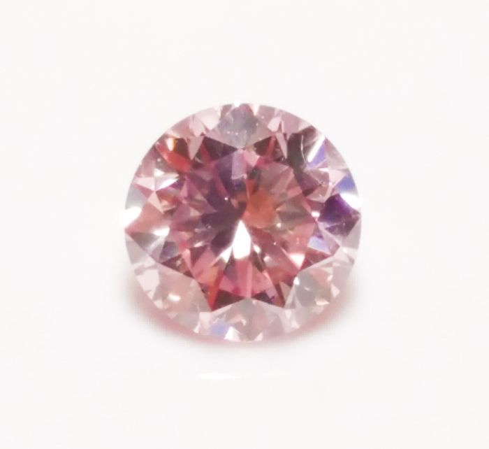 Pink Diamond - 0.27ct ARGYLE Natural Loose Fancy Pink GIA Certed Round 7PR SI1