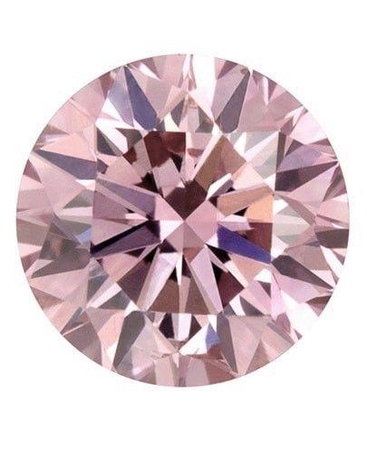 Pink Diamond - 0.19ct ARGYLE Natural Loose Fancy Light Pink GIA Cert Round SI2