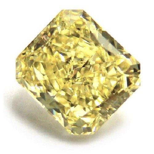 Yellow Diamond - 1.10ct Natural Loose Fancy Yellow Canary Diamond GIA VVS2