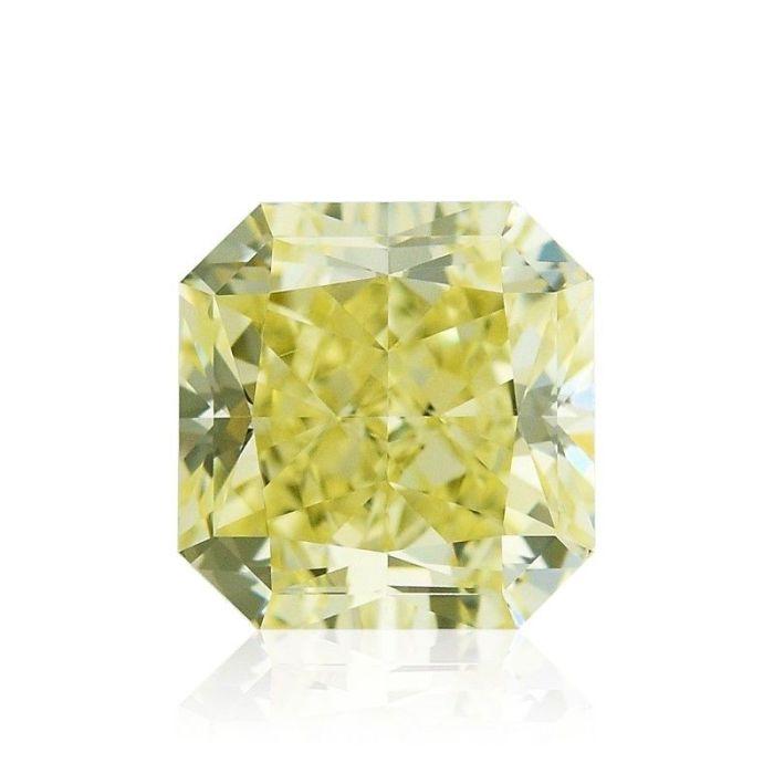 Yellow Diamond - 1.51ct Natural Loose Fancy Yellow Canary Diamond GIA VS1
