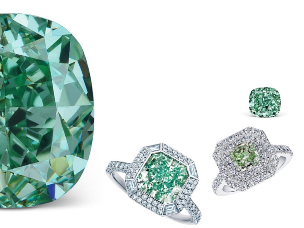 Natural Green diamonds