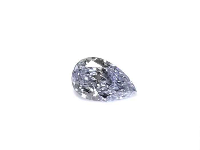 Real 0.25ct Natural Loose Fancy Light Blue Color Diamond GIA VS1 Pear Shape