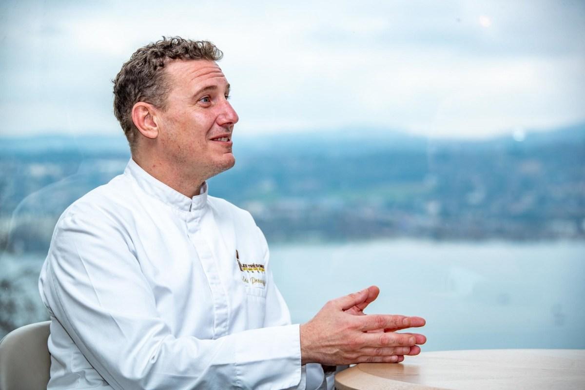 Éric Prowalski, un chef souriant