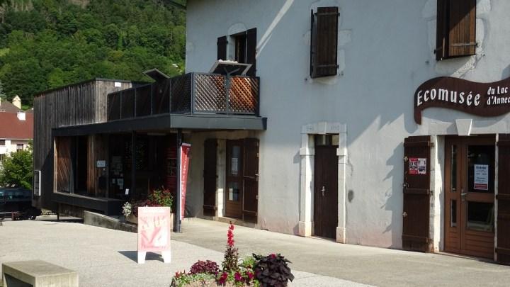 L'Écomusée du lac d'Annecy à Sevrier. Visite avec Grégoire.