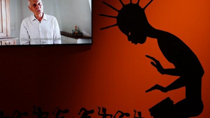 Michel Ocelot chez Michel Ocelot. L'homme dans l'exposition