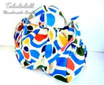 Diaper Bag 2.0 (Blue Polka)