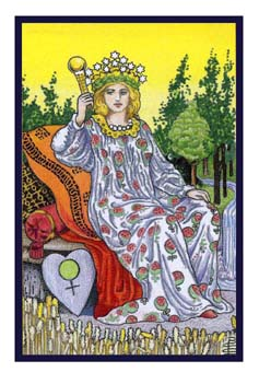 [塔羅牌牌意]女皇 - The Empress - 塔羅牌意 - 塔羅牌大百科