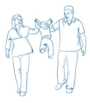 Illustration for Transitions booklet