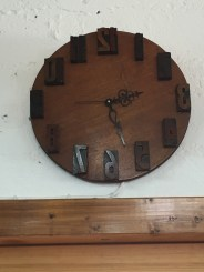 Gotta love the clock! Made by the owner of the Sadariya, Haim