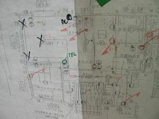 電気屋さん使用の電気図面