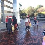 みんなでお掃除サンタになってきました!