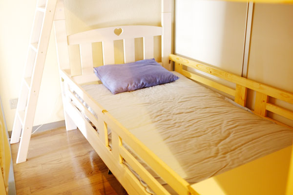 半個室ベッド下段