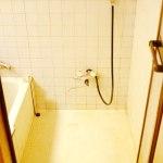 浴室内のシャワーの画像です。