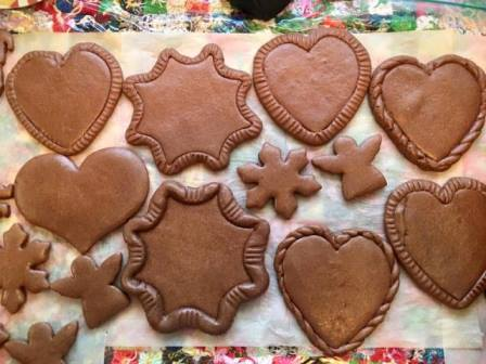 Honey Gingerbread Cookie