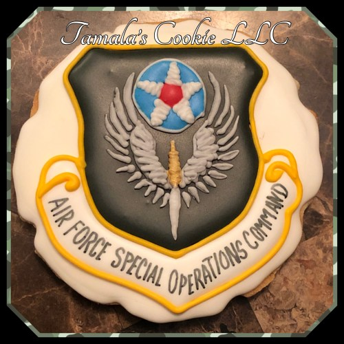 Air Force Soecial Operations Command Cookie