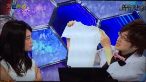 NHKサイエンスZERO洗濯機で洗える常識破りのシルク1