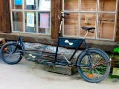 Beer delivery bike