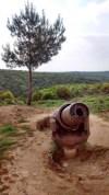 A 7 tonne Turkish artillery