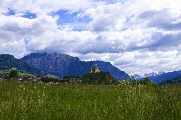 Beginning of the Dolomites