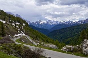 Descent to Cortina d'Ampezzo