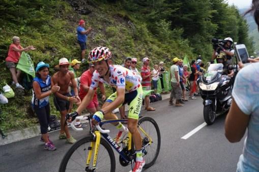 Polish rider Rafal Majka goes to win the stage