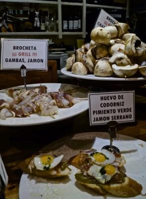 Quaills eggs - pintxos