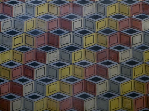 Pattern in Albi Cathedral