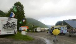 Campground under the weather