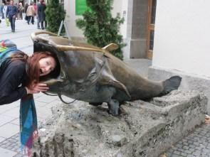 Tam and the catfish