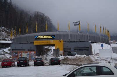 The arena...