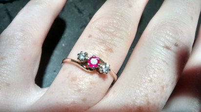 The heirloom ring you have all been wanting to see, so beautiful