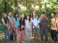 Kunjungan Vita Girsang di Taman Eden 100