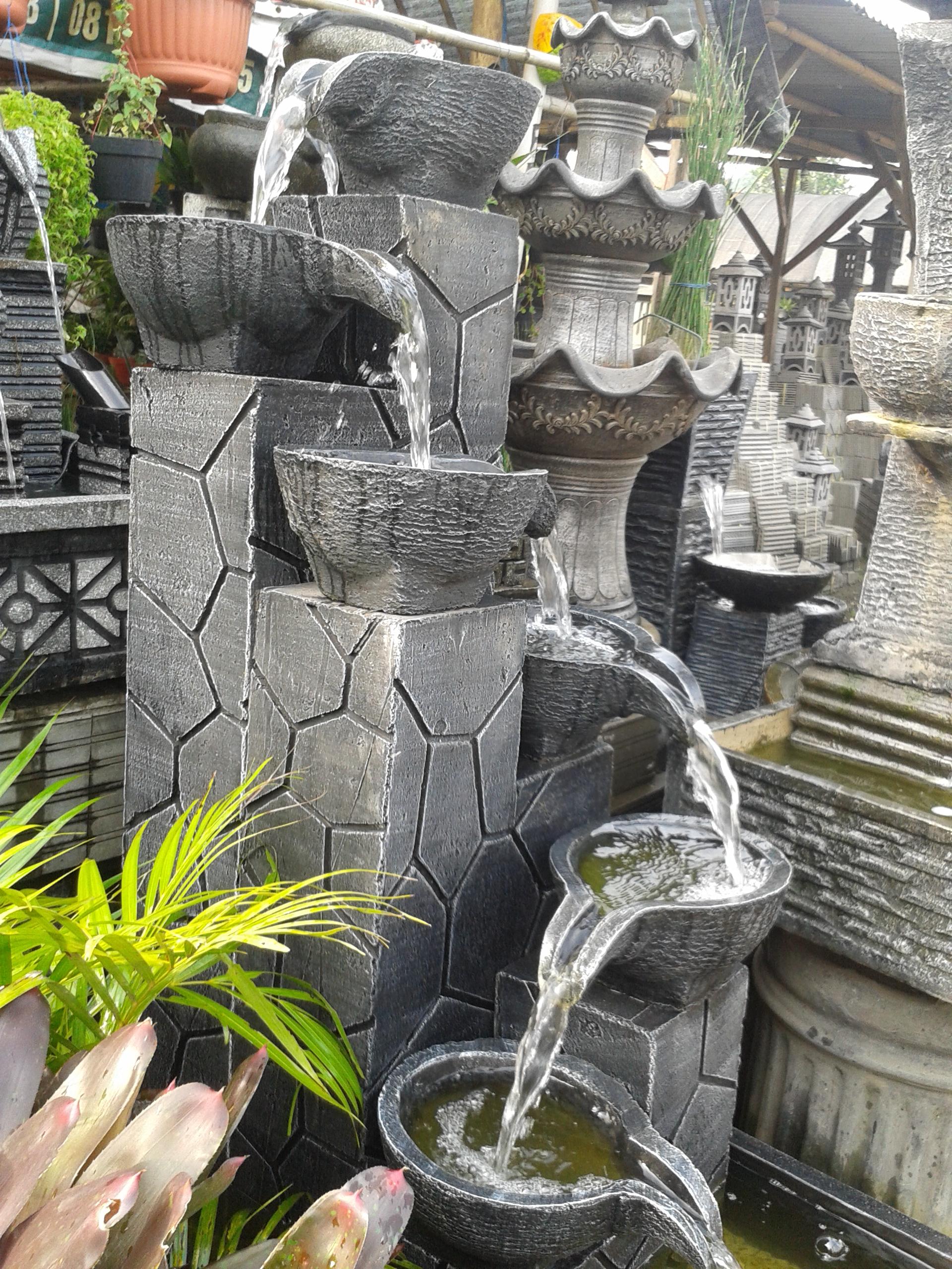Jual Air Mancur Dan Pot Minimalis Tamantilusadulurs64