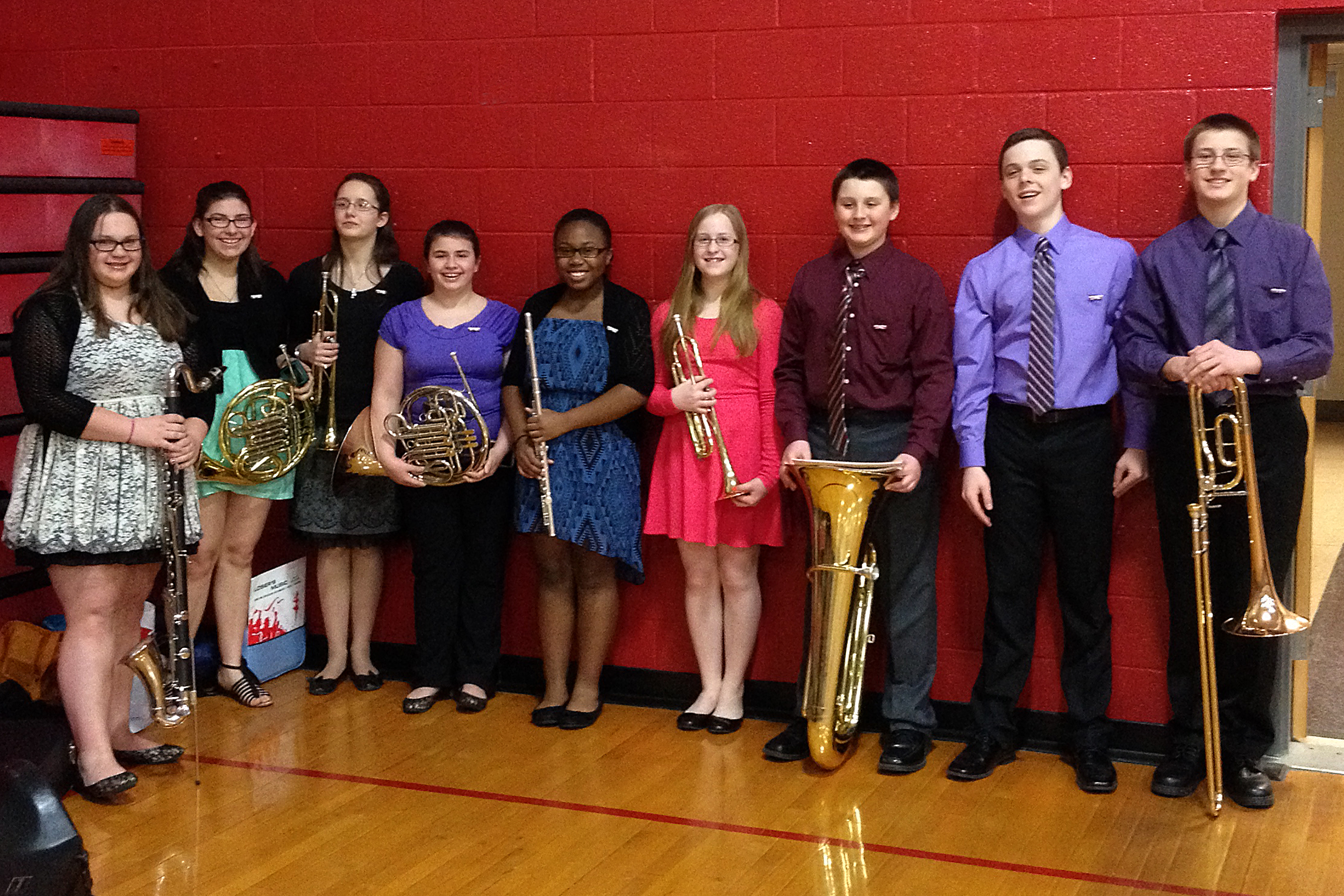 Tamaqua Area High School Band Members Selected For Junior Schuylkill County Band