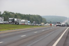 3 Tractor Trailer Accident, Mile Marker 126, Interstate 81, 7-30-2015 (40)