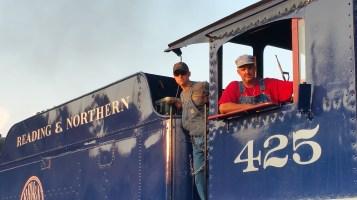 1928 Baldwin 425 Steam Engine, Locomotive, Tamaqua Train Station, Tamaqua (116)