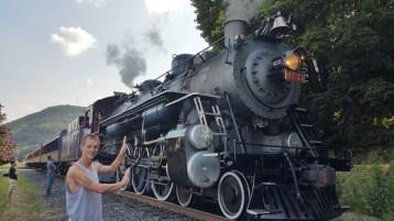 1928 Baldwin 425 Steam Engine, Locomotive, Tamaqua Train Station, Tamaqua (19)