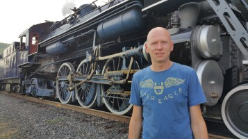 1928 Baldwin 425 Steam Engine, Locomotive, Tamaqua Train Station, Tamaqua (24)