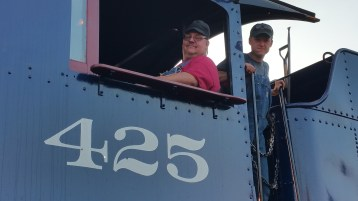 1928 Baldwin 425 Steam Engine, Locomotive, Tamaqua Train Station, Tamaqua (82)