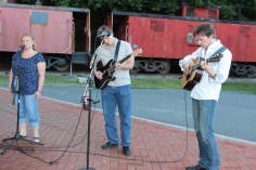 Amanda & Me perform, as part of Chamber Summer Concert Series, Train Station, Tamaqua (11)