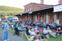 Amanda & Me perform, as part of Chamber Summer Concert Series, Train Station, Tamaqua (44)