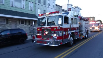 Apparatus Parade during Citz Fest, Citizens Fire Company, Mahanoy City, 8-21-2015 (117)