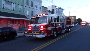 Apparatus Parade during Citz Fest, Citizens Fire Company, Mahanoy City, 8-21-2015 (134)