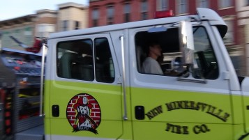 Apparatus Parade during Citz Fest, Citizens Fire Company, Mahanoy City, 8-21-2015 (191)
