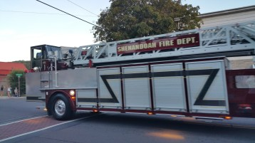 Apparatus Parade during Citz Fest, Citizens Fire Company, Mahanoy City, 8-21-2015 (51)