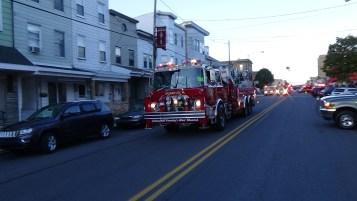 Apparatus Parade during Citz Fest, Citizens Fire Company, Mahanoy City, 8-21-2015 (77)